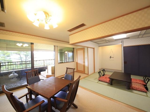 【客室露天風呂付】最上階和洋室/50~60平米 ※禁煙