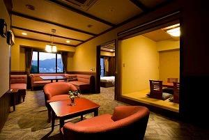 富士山側露天風呂付客室(スイートルーム)禁煙室